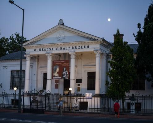 A Munkácsy Mihály Múzeum épülete és gyűjteménye