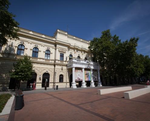 Békéscsabai Jókai Színház épülete