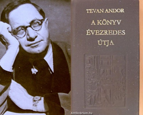 Tevan Andor könyvművészeti és kiadói tevékenysége